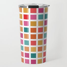 City Blocks - Sunrise #910 Travel Mug