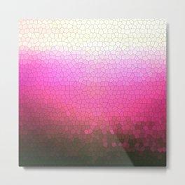 pink sparkle Metal Print