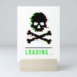 Dead Reaper pension sarcasm funny gift Mini Art Print