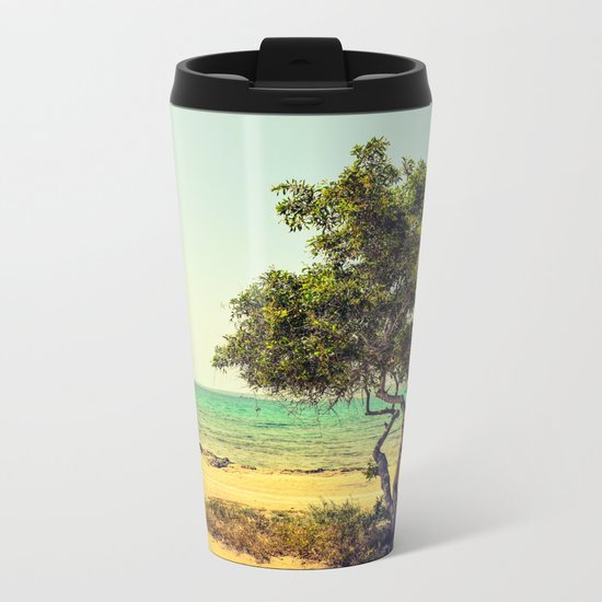 Cyprus Tree Metal Travel Mug