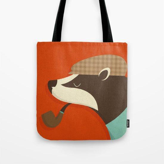 Country Badger Tote Bag