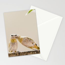 Birds Kissing Stationery Cards