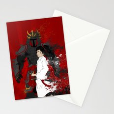 Samurai Warrior Stationery Cards