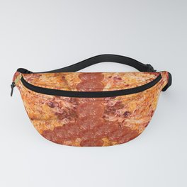 Peace Sign Pepperoni Pizza Pie Fanny Pack