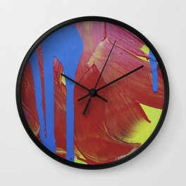 JP Was Here II Wall Clock