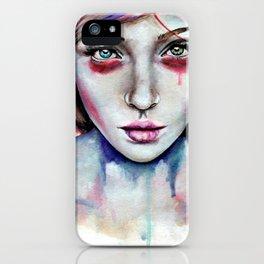 Seeing You Heterochromia iPhone Case