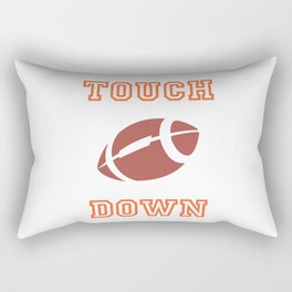 Touch Down In American Football II Rectangular Pillow