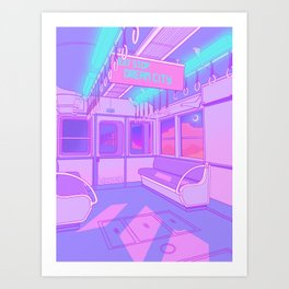 Dream City Art Print