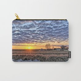 Iowa Farm Sunset Carry-All Pouch