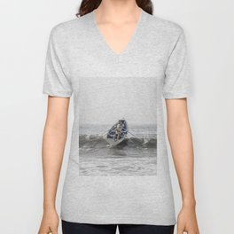 Over The Wave Unisex V-Neck