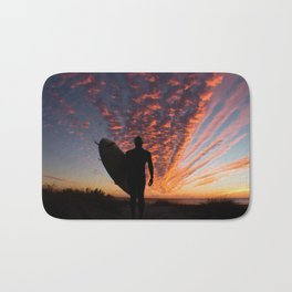 Surfer's Sky Bath Mat
