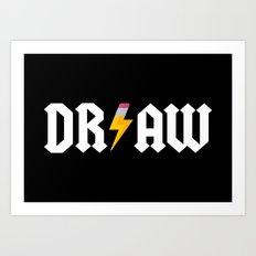 DR/AW Art Print