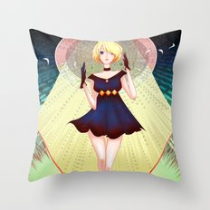 Spica Throw Pillow