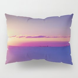 Sunset on the Atlantic Ocean Pillow Sham