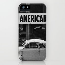 I Am An American Photo Dorothea Lange iPhone Case