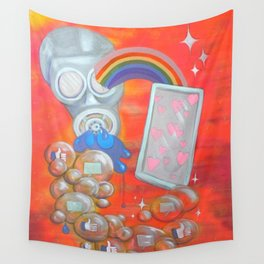 modern love Wall Tapestry