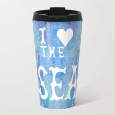 I Love the Sea 2 Travel Mug