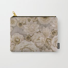 Paper Bouquet Carry-All Pouch