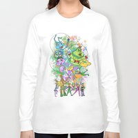 pixar Long Sleeve T-shirts featuring Disney Pixar Play Parade - Bug's Life Unit by Joey Noble