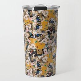 Klimt arabesque Travel Mug