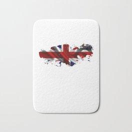 British Flag British Student England Great Britian Bath Mat