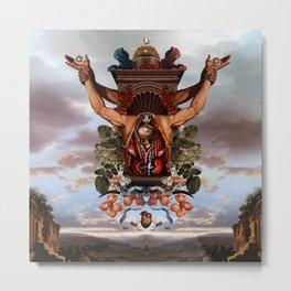 Sacrifice to Huitzilopochtli Metal Print