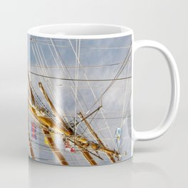 Frigate Flags Coffee Mug