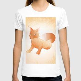 Red Little Fox (Full) T-shirt