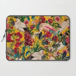 FLORAL AND BIRDS XVIII Laptop Sleeve