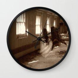 Asylum Angel Wall Clock
