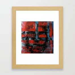 Never be blinded by reality Framed Art Print