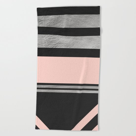 Minimal Complexity II Beach Towel