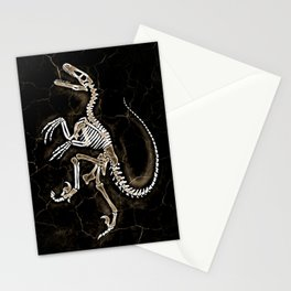 Dino Fossil 2 Stationery Cards