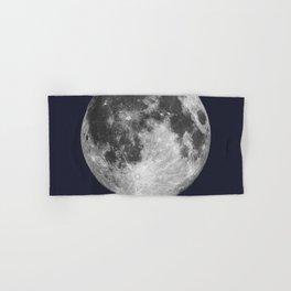Full Moon on Navy English Hand & Bath Towel