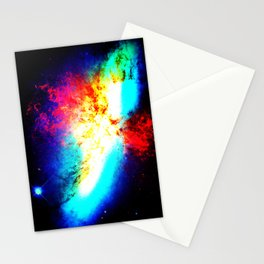 Galaxy : Bright Supernova Stationery Cards