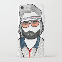tenenbaum iPhone & iPod Cases featuring Richie Tenenbaum by daniel davidson