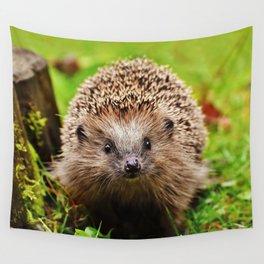 Cute Little Hedgehog Wall Tapestry