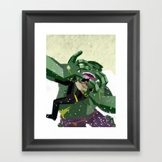 Ultimate Hulkout Featuring The Canadian Framed Art Print