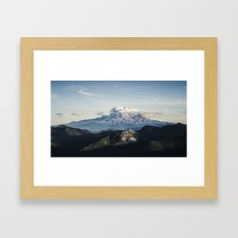 Mt. Adams Framed Art Print