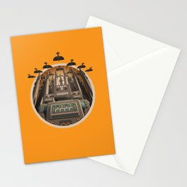 Robots Unite! crest variant Stationery Cards