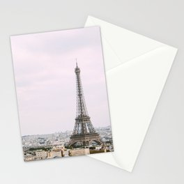 France Photography - The Eiffel Tower In The Center Of Paris Stationery Cards