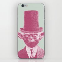yoda iPhone & iPod Skins featuring Yoda by NJ-Illustrations