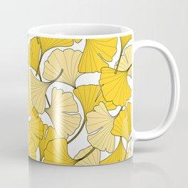 ginkgo leaves (yellow) Coffee Mug