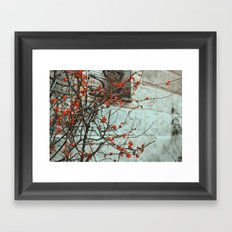 Let them go Framed Art Print