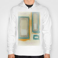 rothko Hoodies featuring Soft And Bold Rothko Inspired by Corbin Henry