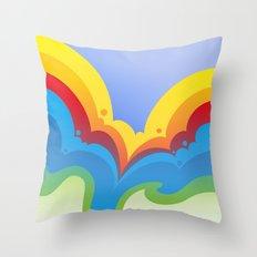 Rainbowmatic Throw Pillow