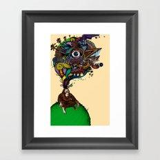 BigFoot & the Electrogasms Framed Art Print