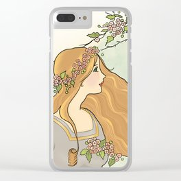 Guinevere Had Golden Hair Clear iPhone Case