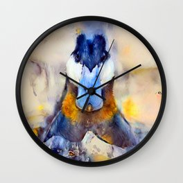 Mr. Ruddy Duck Wall Clock