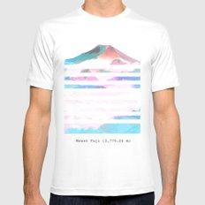 Mount Fuji Mens Fitted Tee White MEDIUM